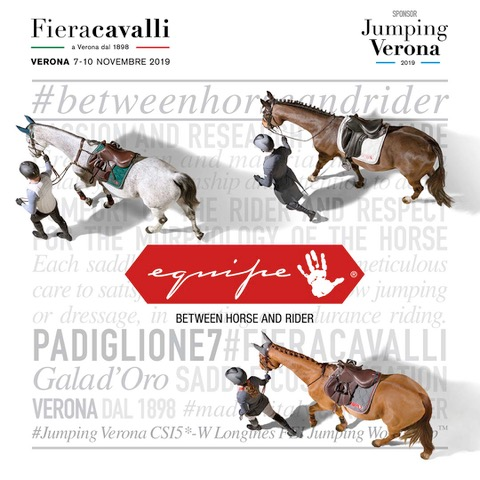 Selleria Equipe back to Fieracavalli Verona